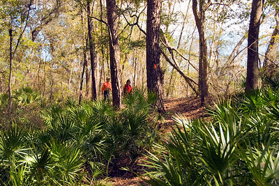 Hiking along the Suwannee River (M. Timothy O'Keefe)